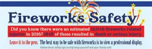 Fireworks Safety Tips from Meier Fire Investgations.