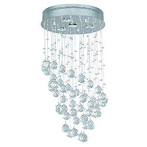 Chandelier sold by Home Depot that poses a fire risk.