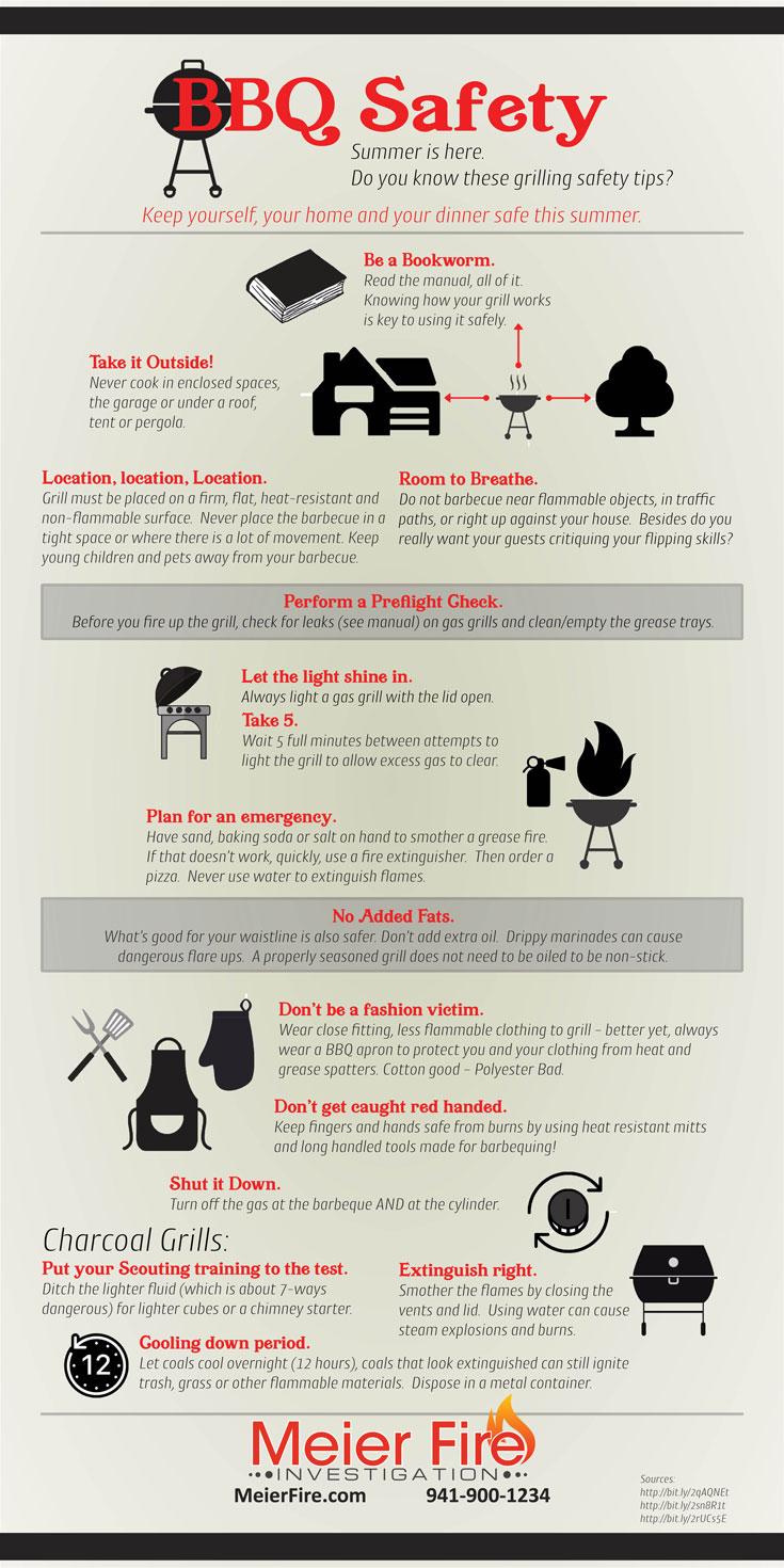 Meier Fire Summer BBQ Safety Tips